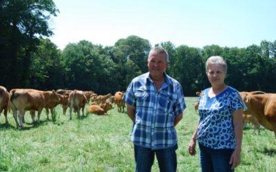 Interview de Martine et Jacques Le Clere, éleveurs de bovins Bleu-Blanc-Cœur dans le Morbihan (56)