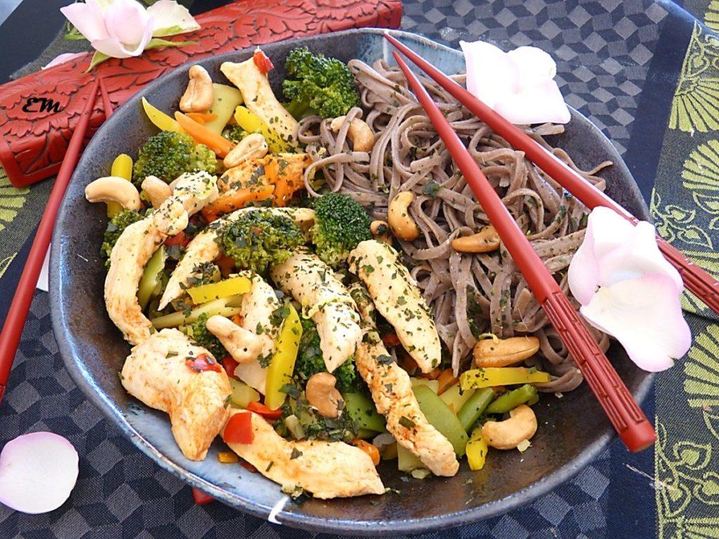 poulet wok