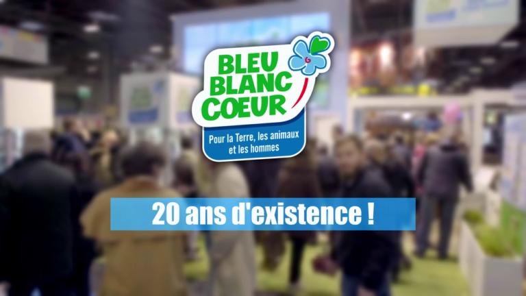 20 ans Bleu-Blanc-Coeur
