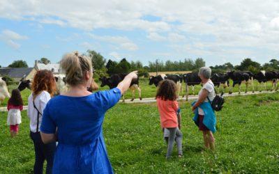 A la découverte de la ferme familiale «Les bouilles de Cauquigny»
