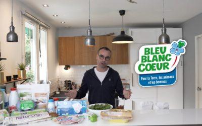 Duel de Cake Bleu-Blanc-Coeur chez «Papa en Cuisine»