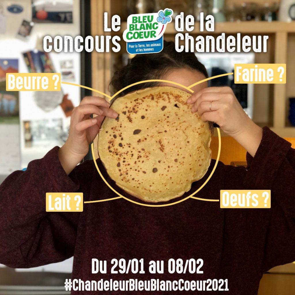 Concours Bleu-Blanc-Coeur Chandeleur