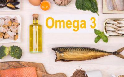 L'essentiel à savoir sur les oméga 3 en un coup d'œil !