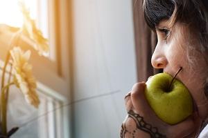 enfants et fruits