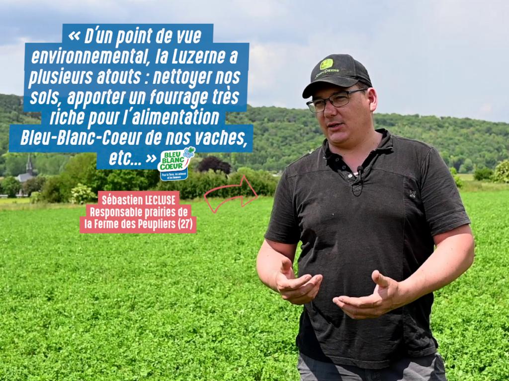 Environnement : plus de diversité dans les champs avec Bleu-Blanc-Coeur